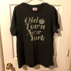 J Crew old town New York graphic tee